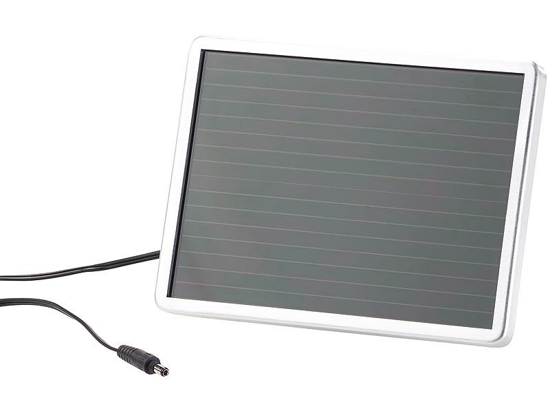 luminea solar led strahler aus aluminium mit pir sensor. Black Bedroom Furniture Sets. Home Design Ideas