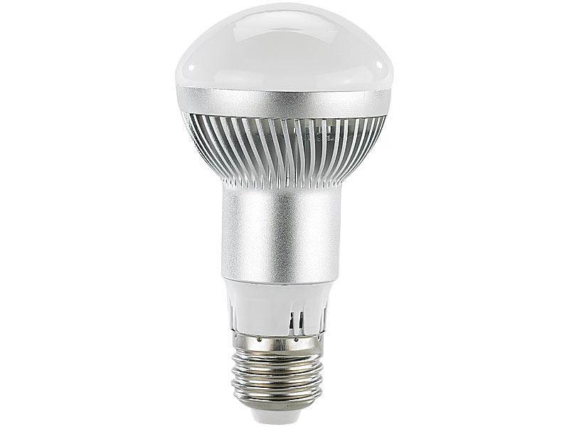 luminea led energiespar reflektorlampe e27 r63 6000 k 280 lumen 5 5 watt. Black Bedroom Furniture Sets. Home Design Ideas