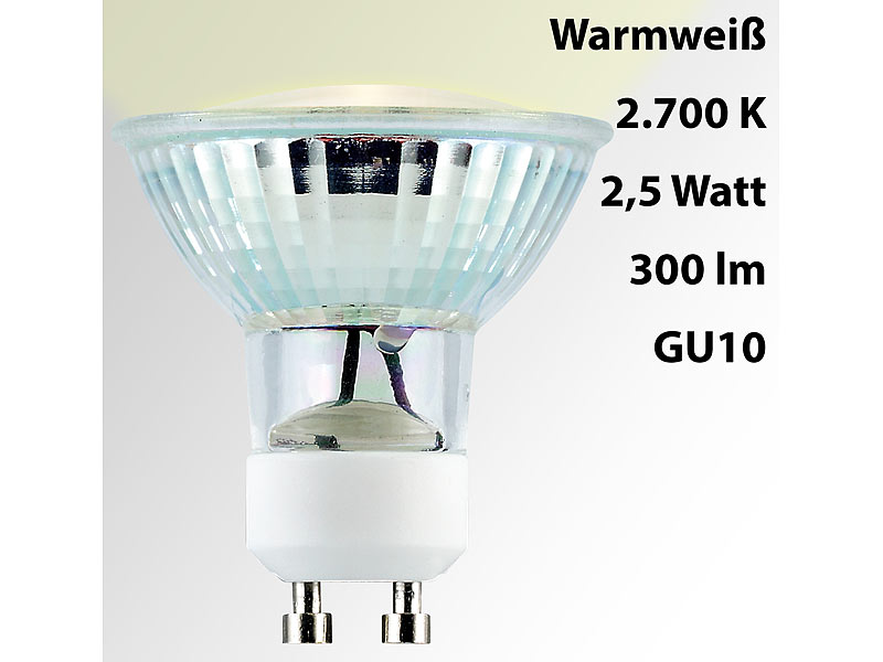 ; LED-Spots GU5.3 (warmweiß) LED-Spots GU5.3 (warmweiß)