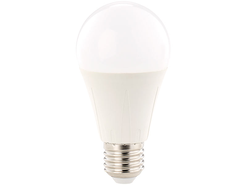 Luminea LED-Lampe, Klasse A+, 12 W, E27, warmweiß, 3000 K, 1.055 ...