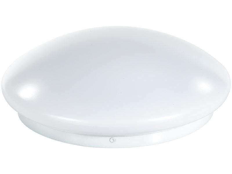 Luminea High-Power LED-Lampe mit Radar-Bewegungsmelder, 10 Watt