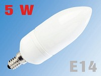 Luminea Energiesparlampe Natural Sunlight Vollspektrum, E14, 5W, 180lm