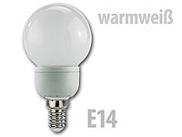 Luminea SMD-LED-Lampe Classic, 24 LEDs, warmweiß, E14, 95 lm