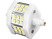Luminea LED-SMD-Lampe mit 18 High-Power-LEDs, R7S, 78mm, warmweiß