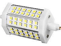 Luminea LED-SMD-Lampe m. 36 High-Power-LEDs R7S 118mm, tageslichtweiß, 800lm
