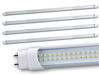 Luminea LED-Leuchtröhre, 120cm, T8, warmweiß, 1700-1800 lm, 4er-Set