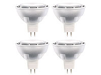 Luminea High-Power LED-Spot GU5.3 , 7W, 12V, tageslichtweiß, 500 lm, 4er-Set