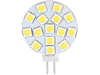 Luminea High-Power G4-LED-Stiftsockel mit SMD5050-LEDs, 3 W, warmweiß; LED-Tropfen E27 (warmweiß) LED-Tropfen E27 (warmweiß) LED-Tropfen E27 (warmweiß) LED-Tropfen E27 (warmweiß)