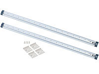 Luminea LED-Unterbauleuchten 2er-Set, 50 cm, Touch-Sensor, 5 Watt, 3000 K; LED-Kerzen E14 (warmweiß) LED-Kerzen E14 (warmweiß) LED-Kerzen E14 (warmweiß)